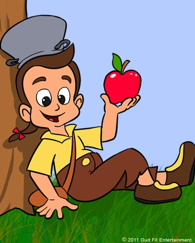 Johnny Appleseed - Character Bio - GudFit Entertainment