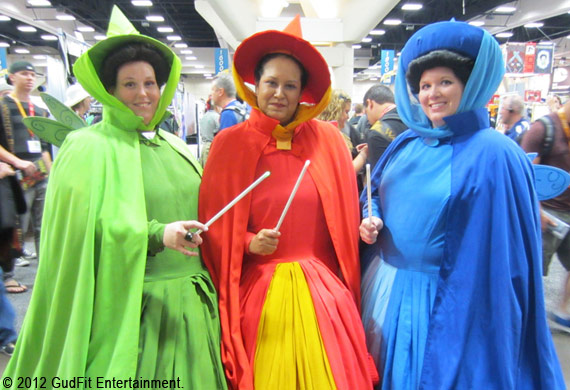 San Diego Comic Con - Disney Fairies - GudFit