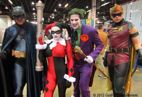 Batman, Harley Quinn, Joker, Robin - GudFit Entertainment
