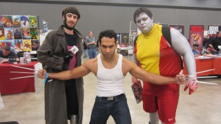 Gambit, Wolverine, and Colossus