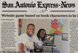 San Antonio Express News has Super Newts and Dorse & Doose!