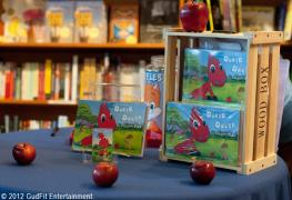 Our First Book Signing at The Twig