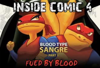 INSIDE LOOK: Super Newts Comic #4 Blood Type Sangre