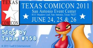 Texas Comicon 2011 gets Super Newts!