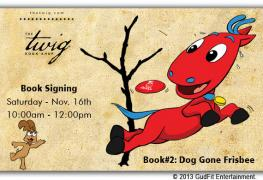 Dorse and Doose Book Signing #2 at The Twig Book Shop