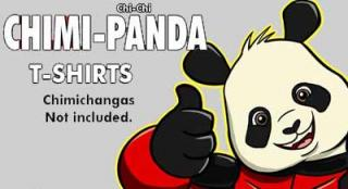 Chimi-Panda tees are ready!