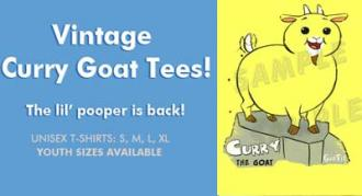 Vintage Curry Goat Tees!