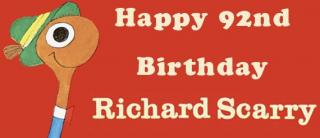 Happy 92nd Birthday Richard Scarry