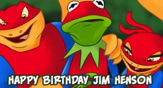 Happy Birthday Jim Henson: Super Newts take Kermit for some Parkour & Freerunning