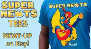 Newt-UP with Super Newts Tees!