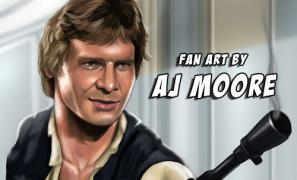 AJ Moore - Star Wars Fan Art (Set# 1)